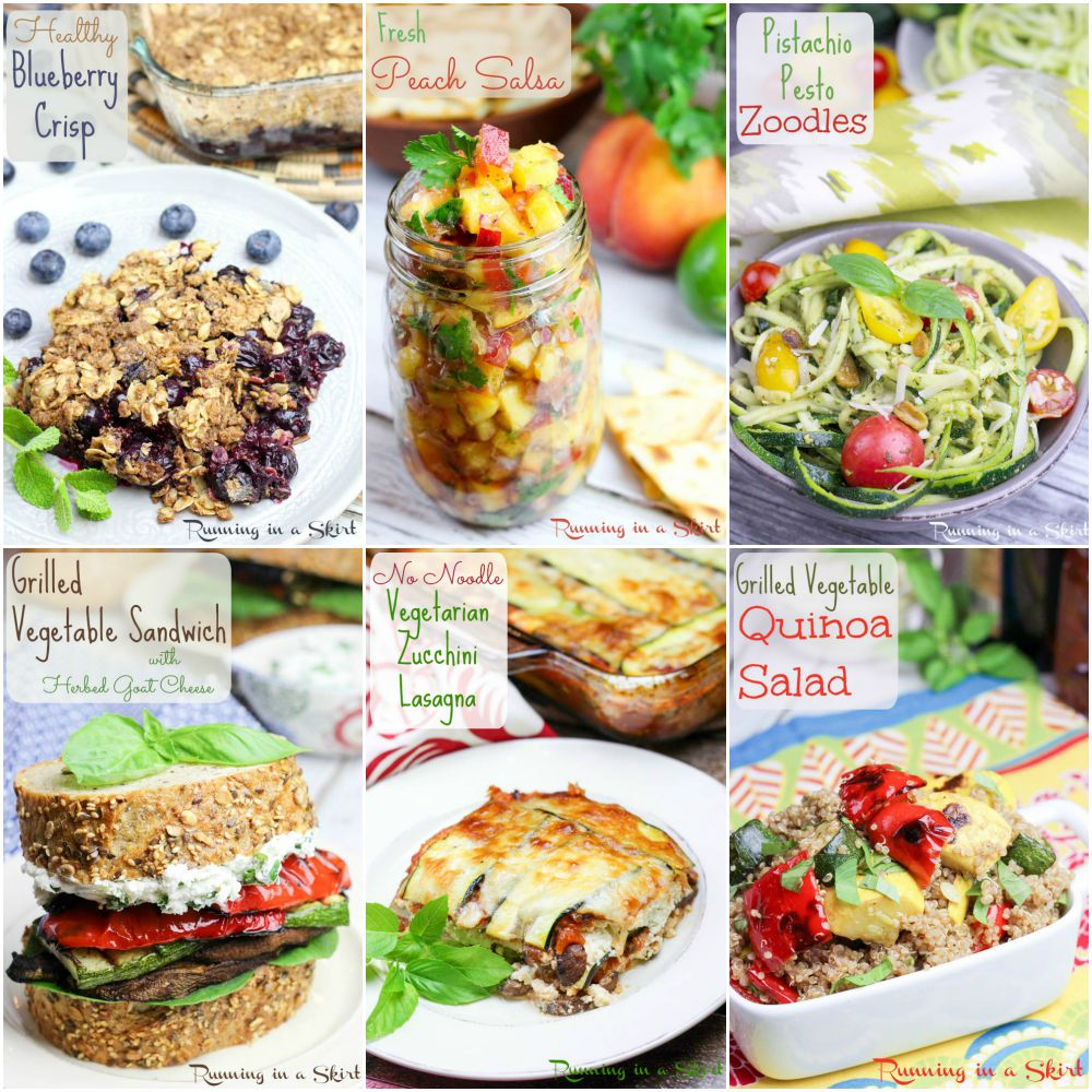 about me food collage