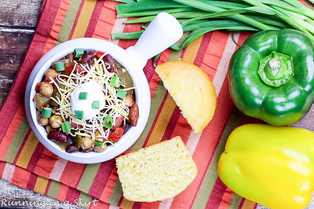 Crock Pot Award Winning Vegetarian Chili Recipe-77-6