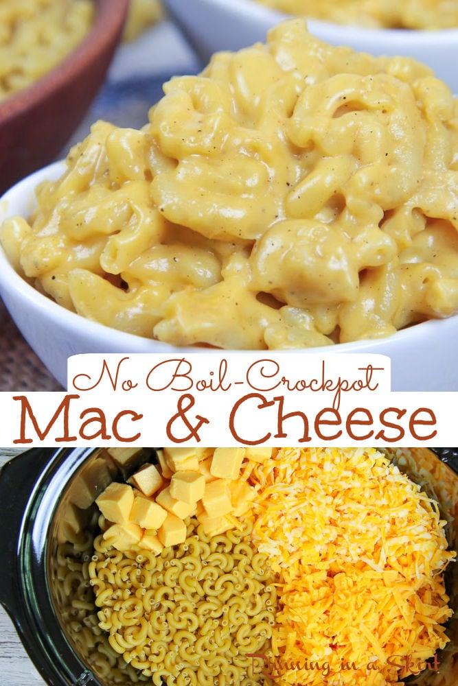 Crock Pot No Boil Mac and Cheese via @juliewunder