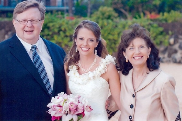 Mom, Dad and Julie Wedding