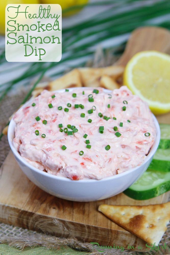 Healthy Smoked Salmon Dip Pinterest Pin