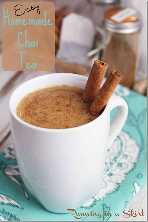 Easy Chai Tea Recipe Pin