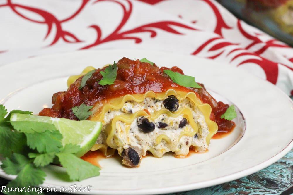 lasagna roll ups spinach lasagna roll ups mexican lasagna rollups is ...