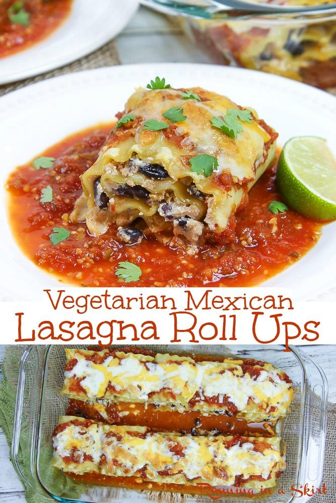 Mexican Lasagna Rollups via @juliewunder