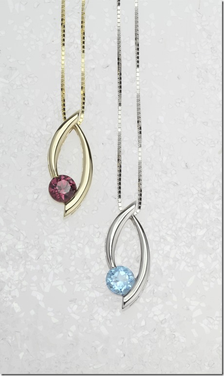 Swoop Pendants for Mother's Day Jewels That Dance