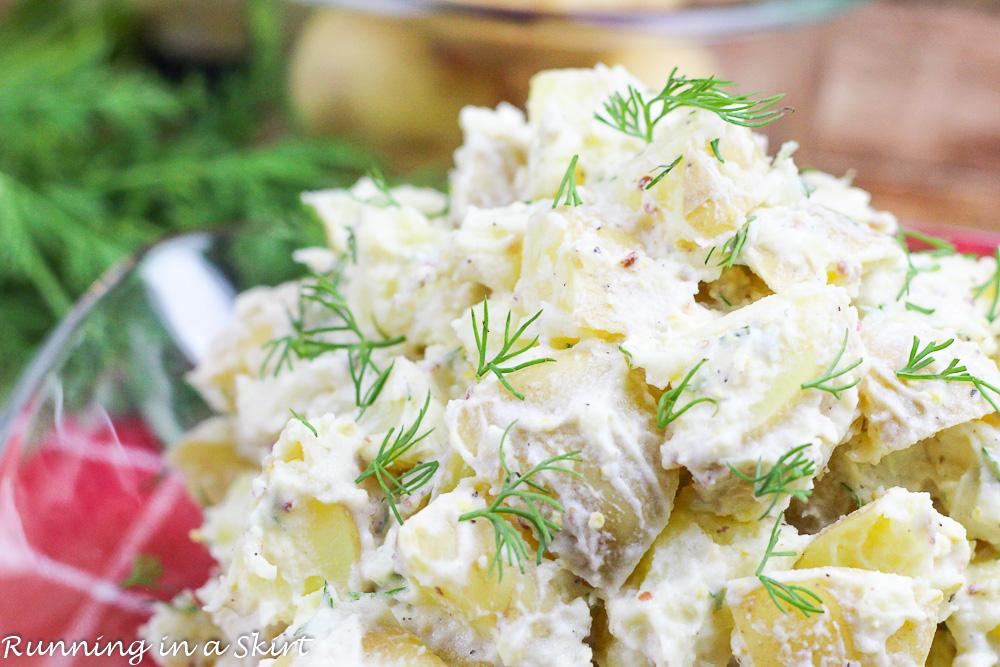 Potato Salad With Yogurt Arugula And Dill