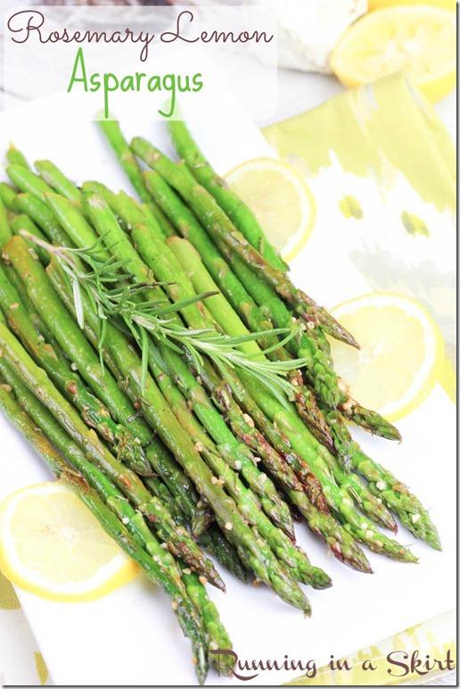 Lemon Rosemary Asparagus