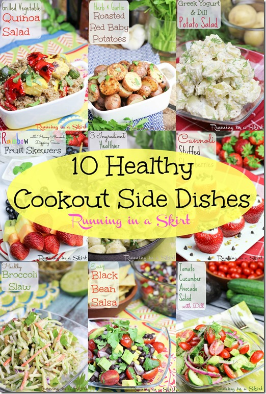 10 Healthy Cookout Recipes - Sidedishes