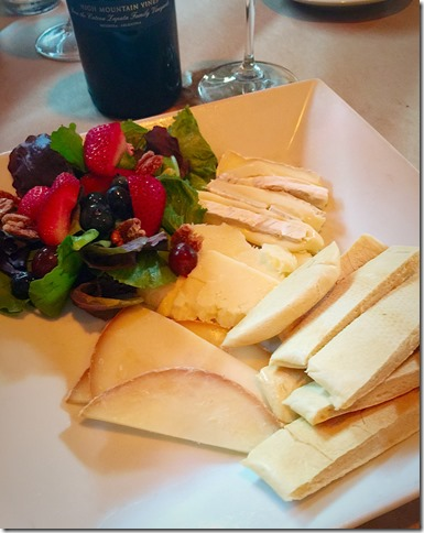 Red Fish Cheese Plate