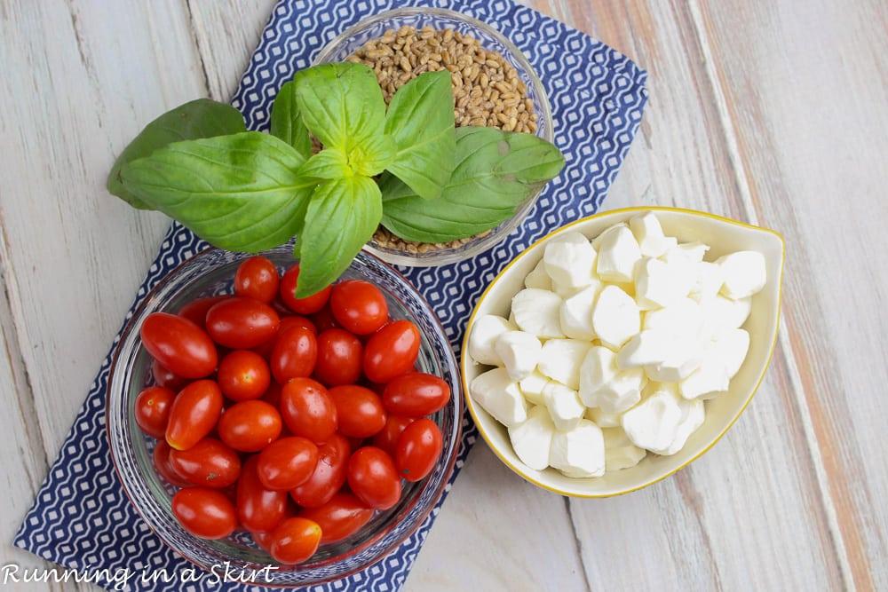 Caprese Wheat Berry Salad recipe