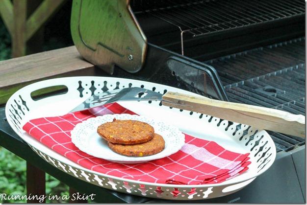 Spicy Black Bean Burger Homemade Pimento Cheese-45-6