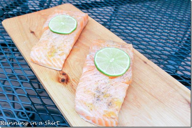 Cedar Plank Salmon Recipe with Peach Salsa2