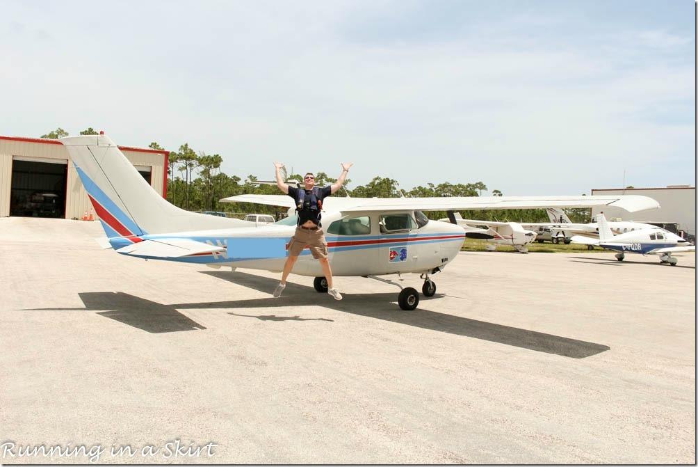Flying to the Bahamas, Cessna 210 Marsh Harbor Airport