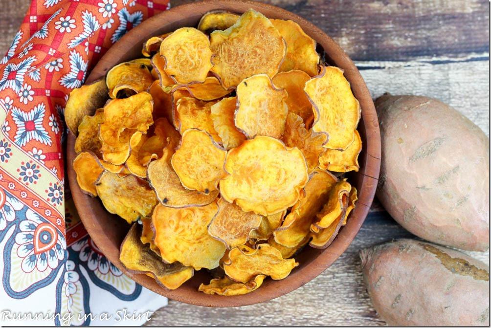 Oven Baked Sweet Potato Chips-32
