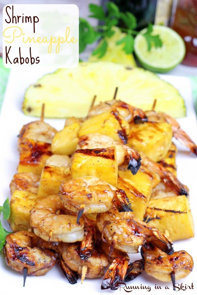 Shrimp Pineapple Kabobs