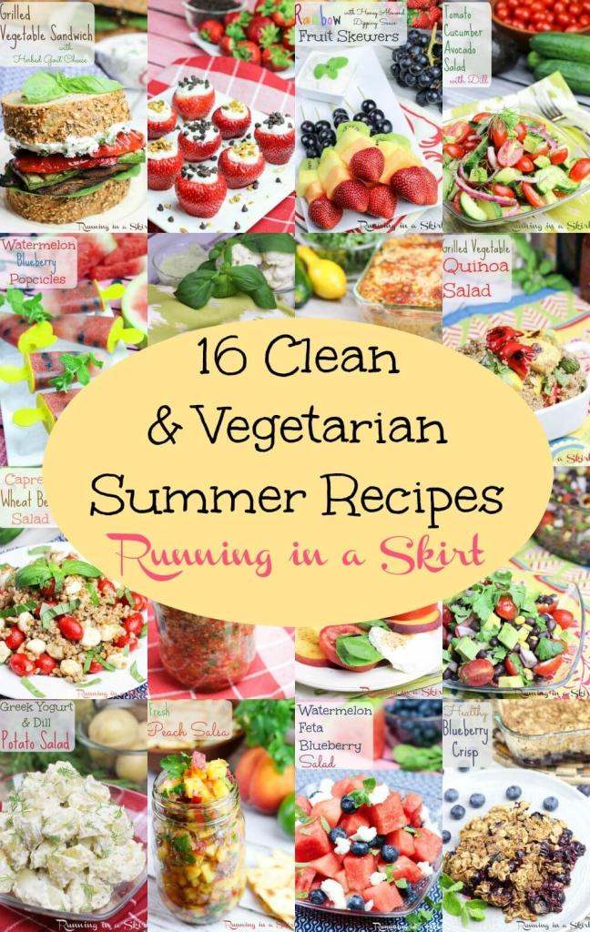 16 Clean Eating & Vegetarian Summer Recipes 2