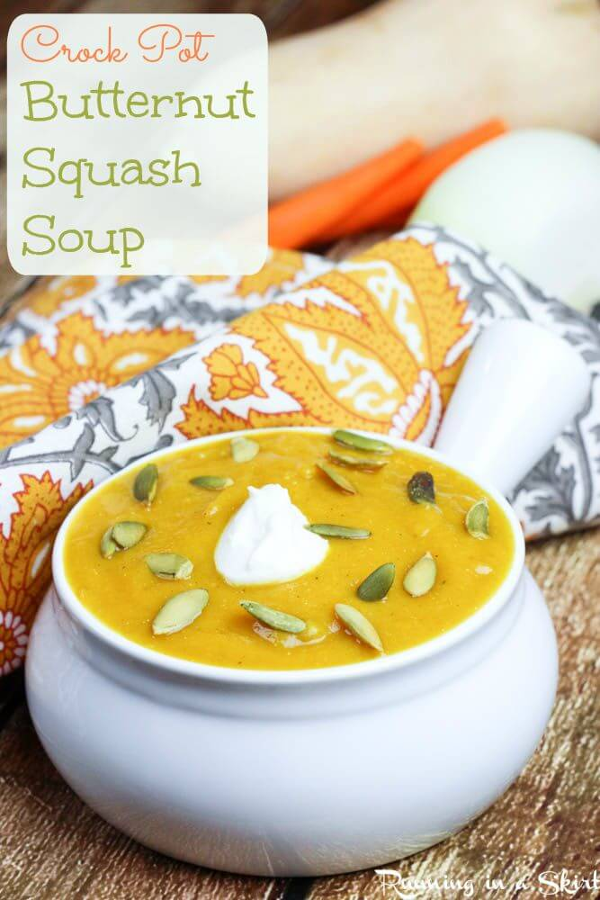 Crock Pot Butternut Squash Soup recipe healthy