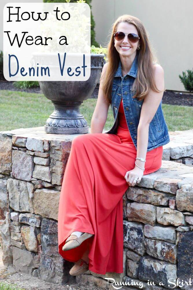 How to Wear a Denim Vest