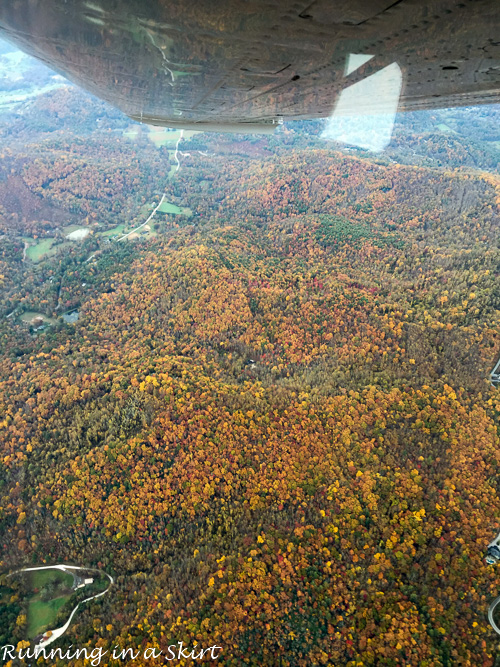 FFall Color in WNC for plane/ Running in a Skirt