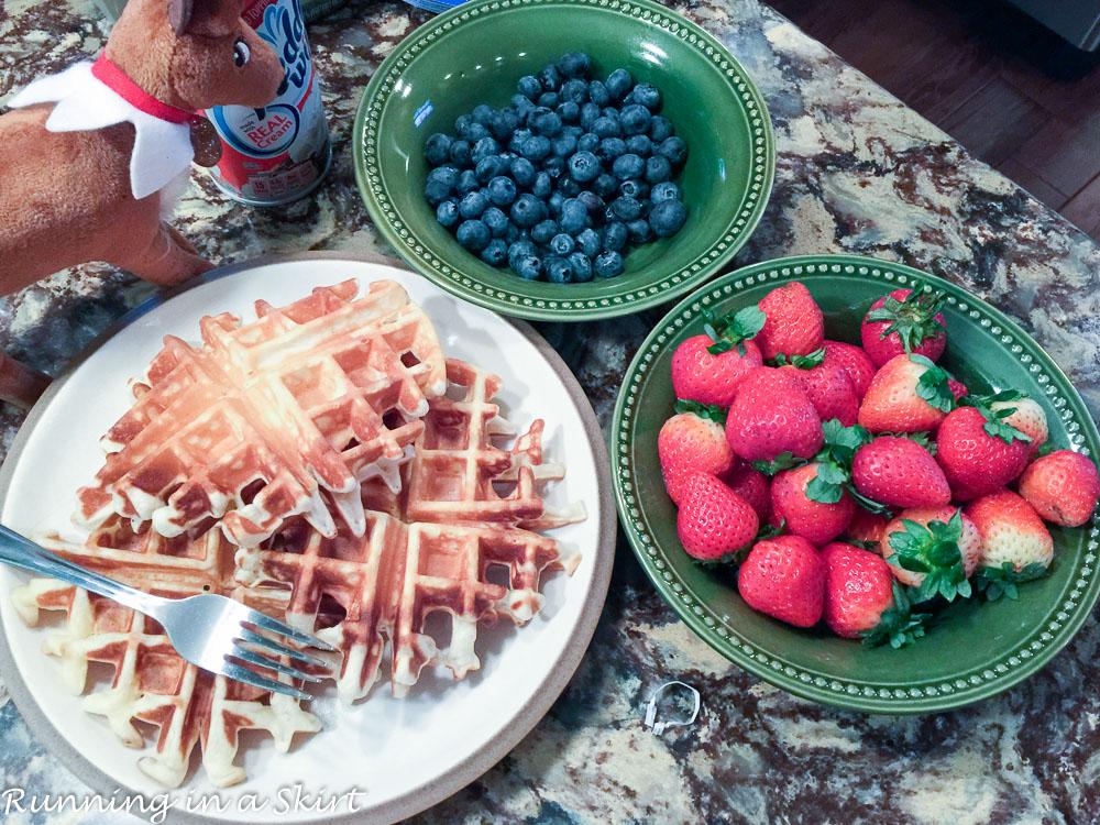 Christmas Weekend 2015-waffles