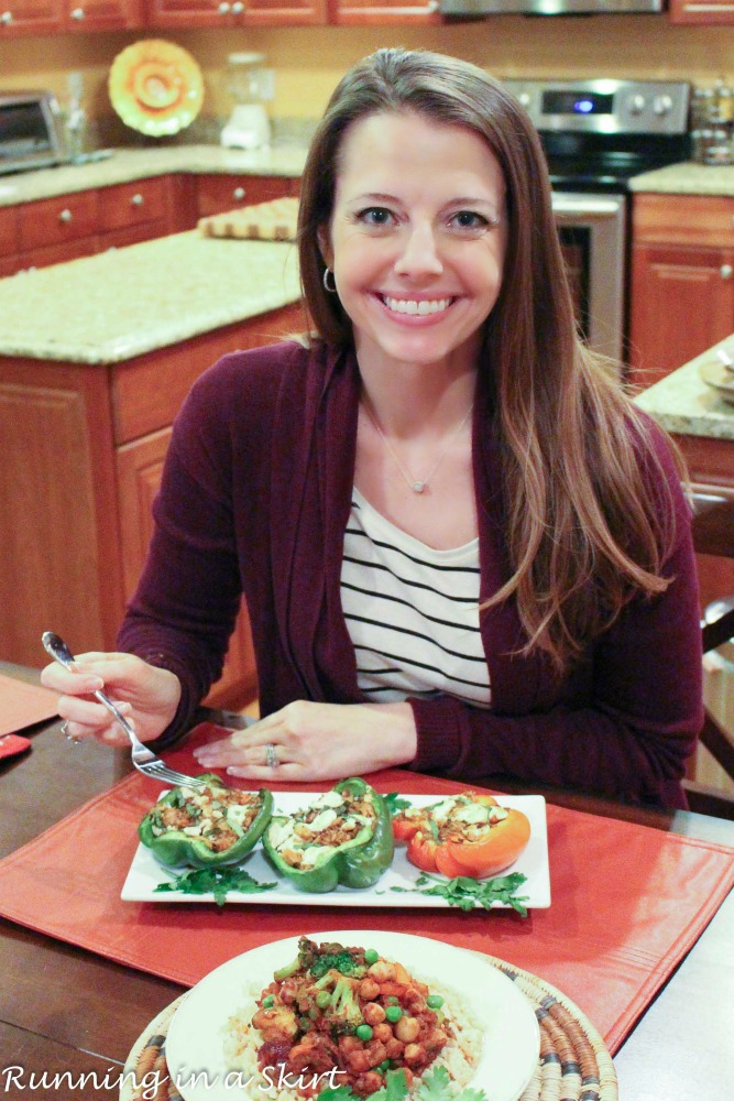 Healthy Dinner Ideas in 20 minutes or less with 80 Fresh/ Running in a Skirt