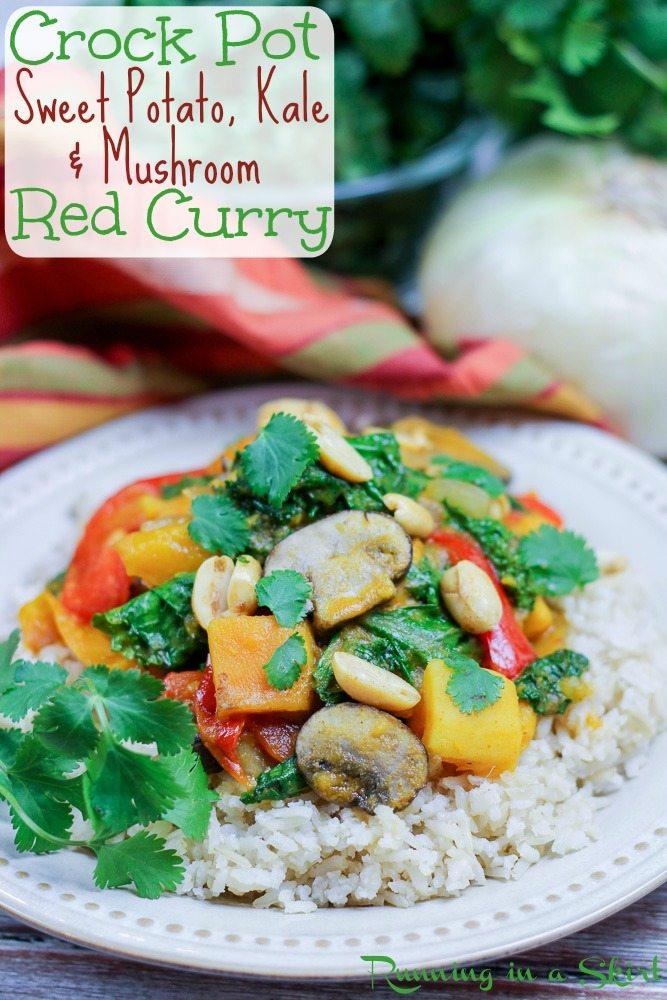 Vegetarian Crock Pot Red Curry