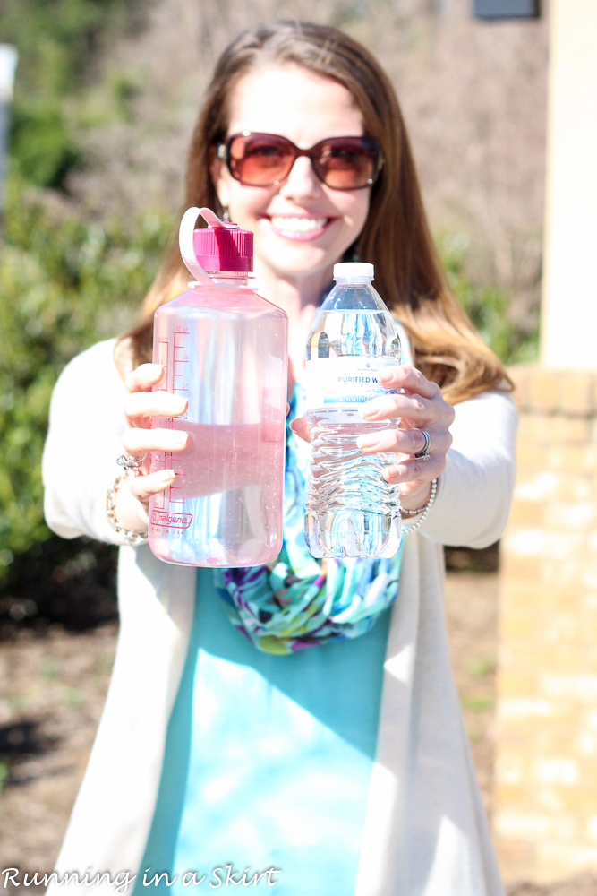 5 Reasons Why You Should Stop Buying Bottled Water/ Running in a Skirt
