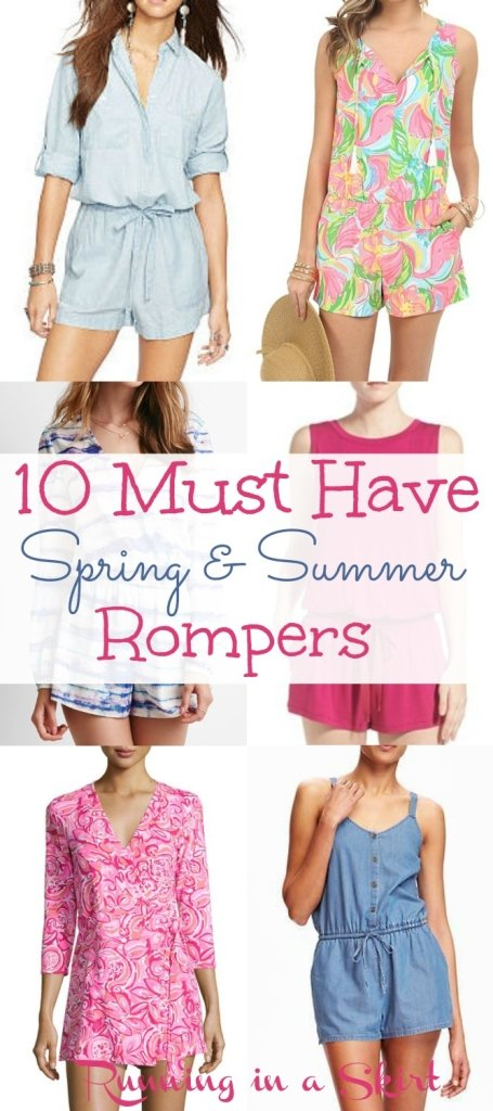Must Have Spring and Summer Rompers