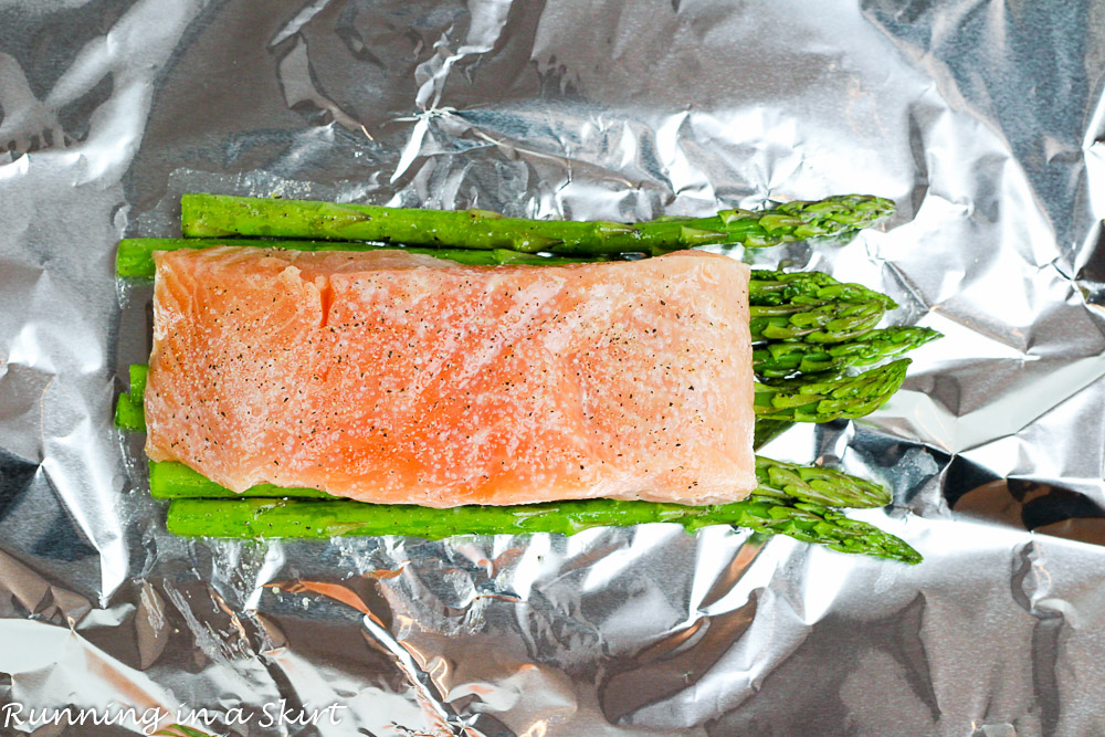 Salmon and Vegetables in Foil-9-2