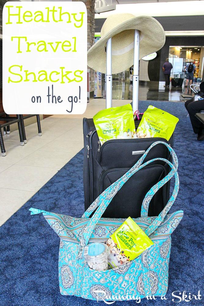 Healthy Travel Snacks on the go!