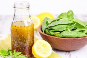 Healthy Greek Salad Dressing / Running in a Skirt