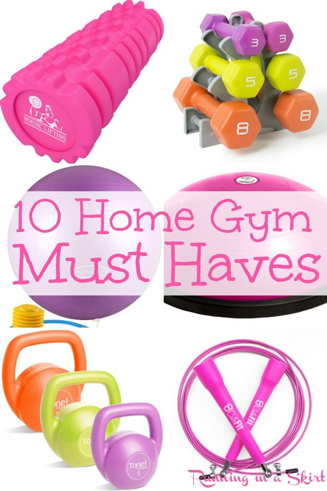 10 Home Gym Must Haves / Running in a Skirt