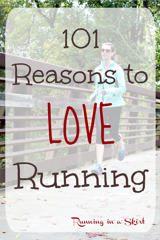101 Reasons to Love Running / Running in a Skirt
