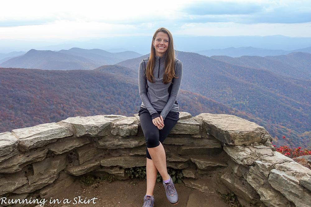 Summit at Craggy Pinnacle.