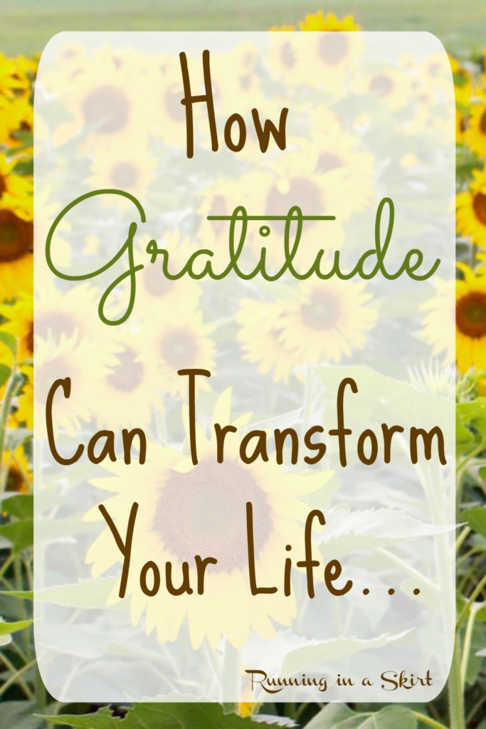 How Gratitude Can Change Your Life/ Running in a Skirt