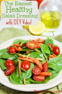 Simple Healthy Salad Dressing and DIY video / Running in a Skirt