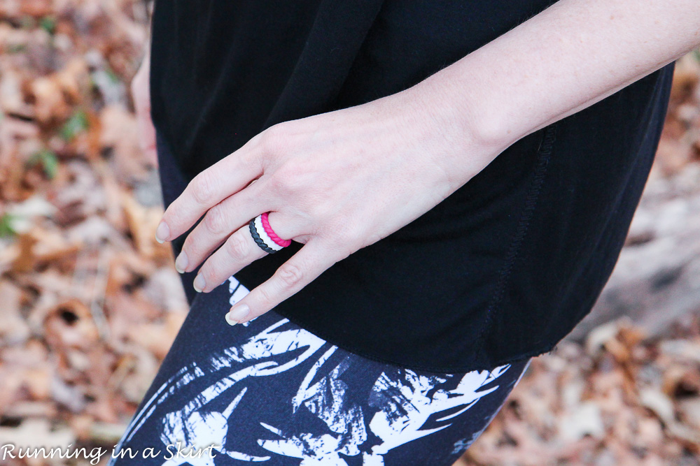 Cute Wedding Rings for Fitness & Adventure / Running in a Skirt
