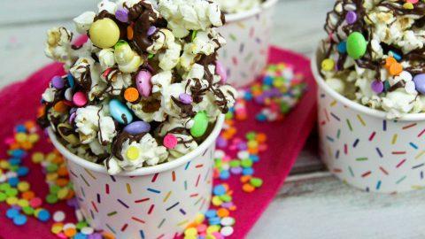Birthday Popcorn recipe / Running in a Skirt