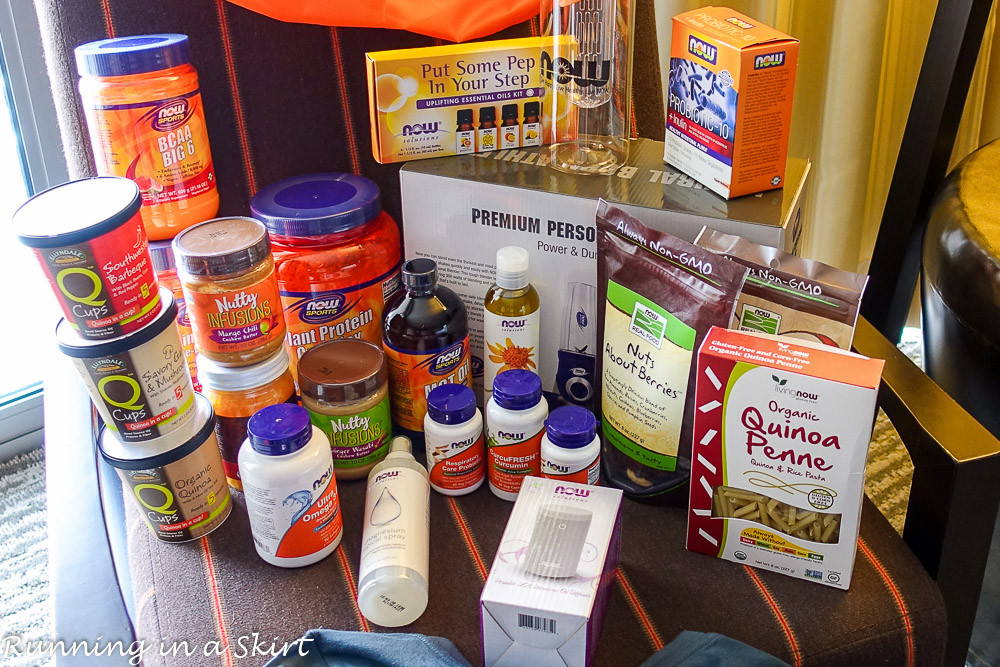 Now Foods Immersion 2017, 6 Products to Try & Epic Giveaway / Running in a Skirt