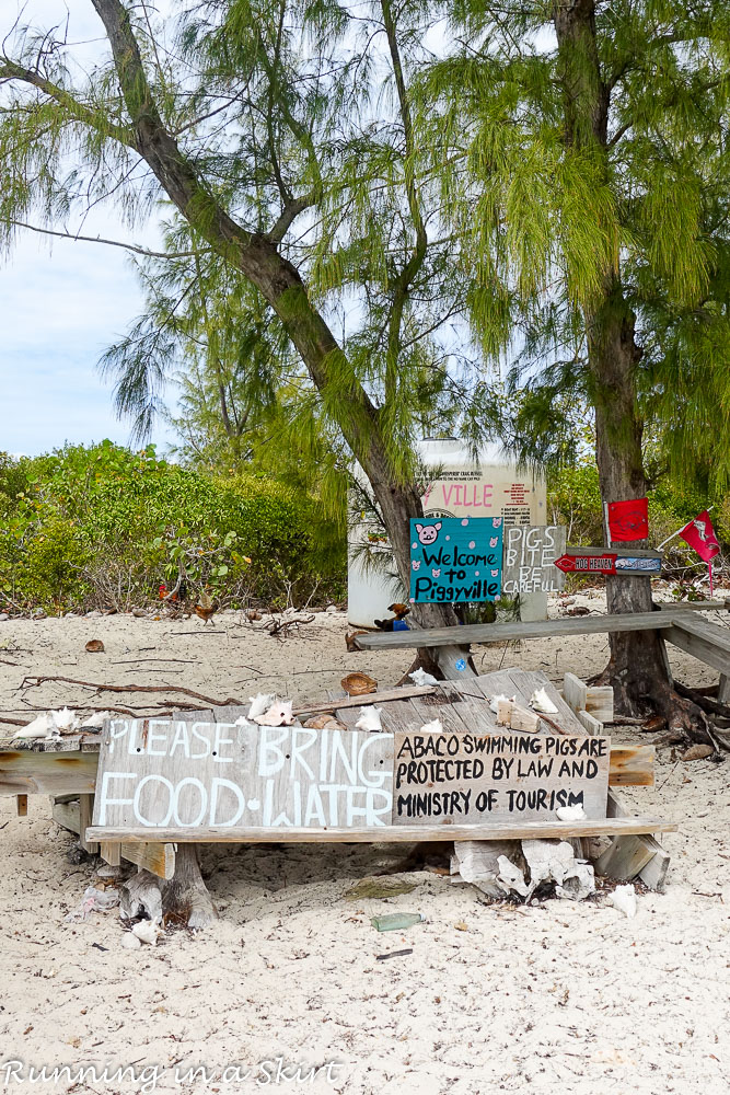 What to do in the Abacos / Running in a Skirt
