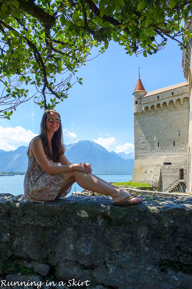 What to do in Lausanne Switzerland / Running in a Skirt