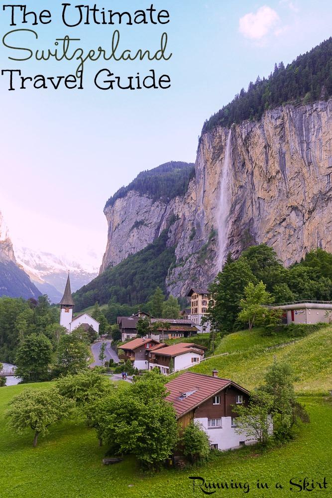 2 weeks in Switzerland - Travel Guide for Lucerne, Berner Oberland, Murren, Zermatt & Lausanne./ Running in a Skirt