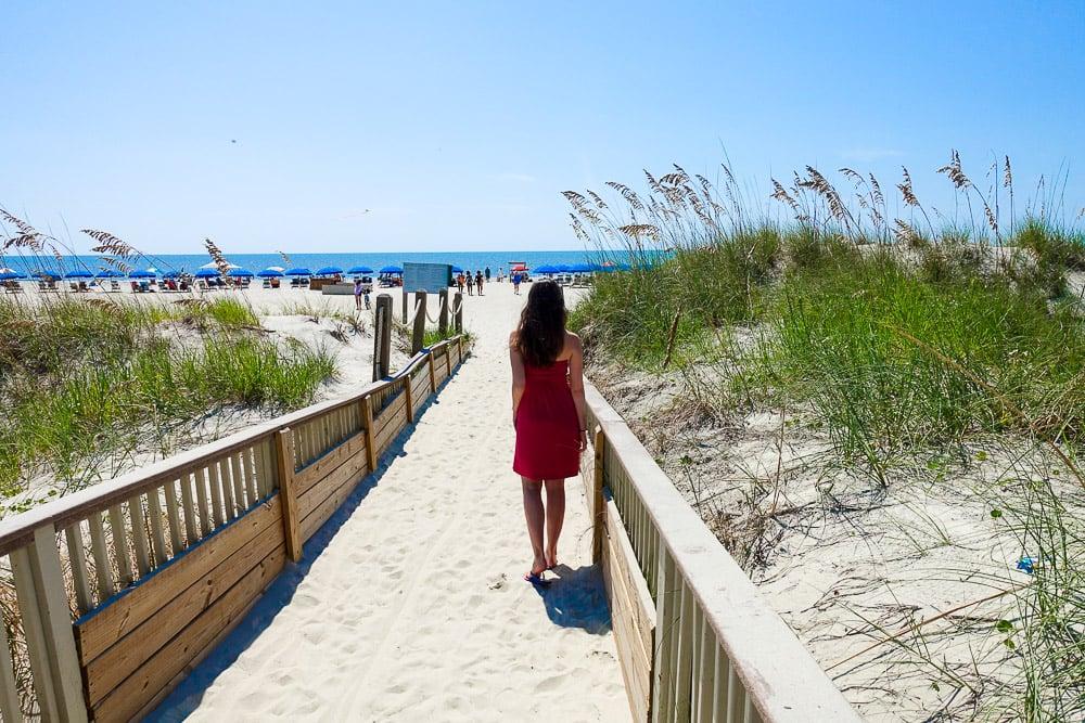 Hilton Head Island Beach Path