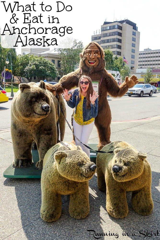 What to do in Anchorage Alaska / Running in a Skirt