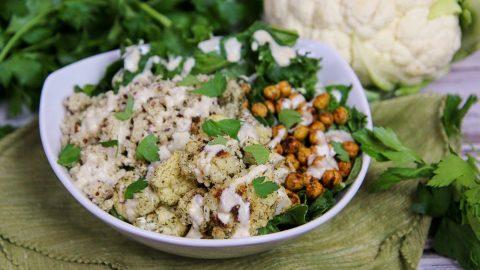 Roasted Cauliflower Salad recipe
