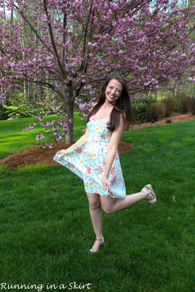 Flower Dress for Spring via @juliewunder