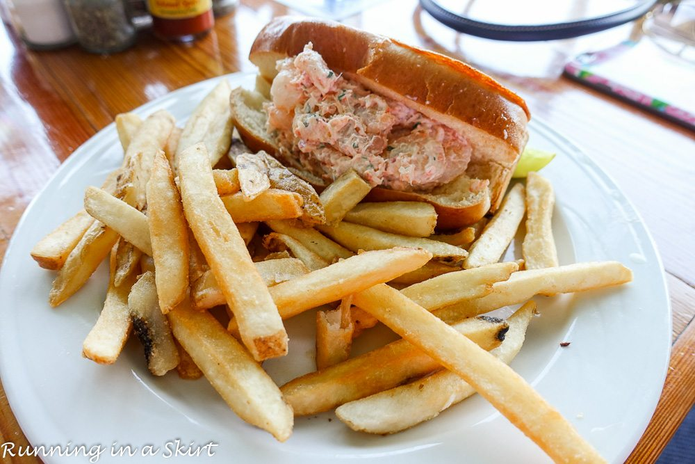 Salty Dog Shrimp and Lobster Roll