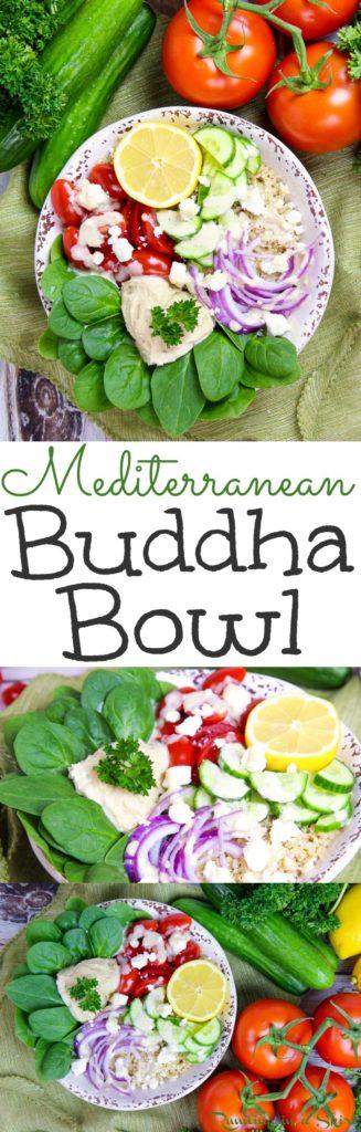 Mediterranean Buddha Bowl recipe