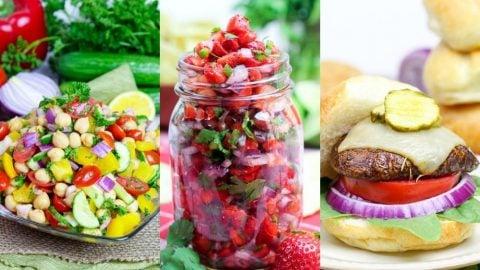 vegetarian Memorial Day cookout recipes