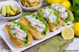 Healthy Shrimp Rolls recipe